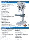 Hochleistungs-Säulenbohrmaschinen Baureihe GB  - Seite 2