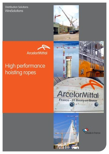 High performance hoisting ropes