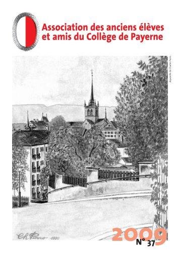 Bulletin 37 (2009) - Association des anciens élèves et amis du ...