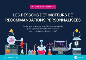 LES DESSOUS DES MOTEURS DE RECOMMANDATIONS PERSONNALISÉES