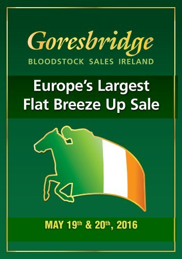 Europe's Largest Flat Breeze Up Sale