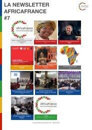 LA NEWSLETTER AFRICAFRANCE #7