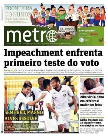 Impeachment enfrenta primeiro teste do voto