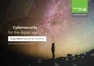 Cybersecurity for the digital age
