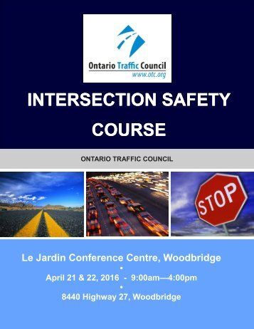 INTERSECTION SAFETY COURSE