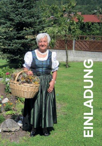 Einladung 80er Frieda Riedl-Hagler