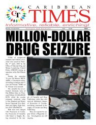 Caribbean Times 86th issue - Monday April 11th 2016