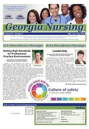 Georgia Nurse - May 2016
