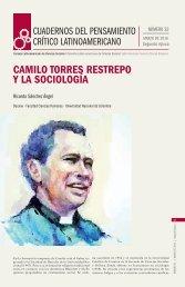 CAMILO TORRES RESTREPO Y LA SOCIOLOGÍA