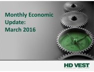 Monthly Economic Update March 2016