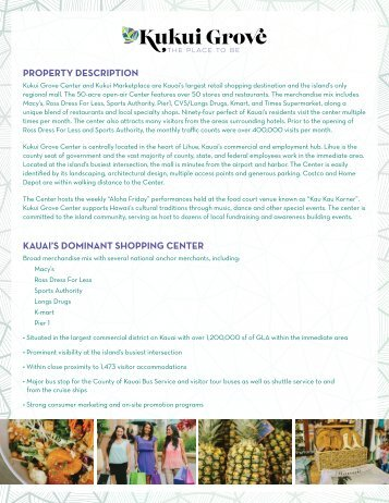 Kukui Grove Leasing Packet