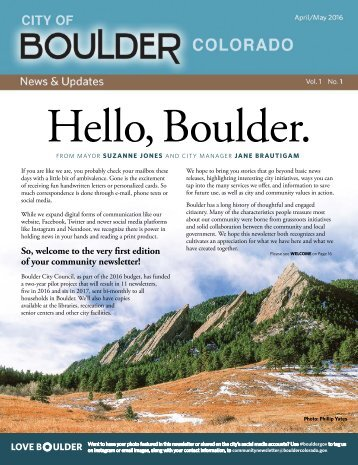 Hello Boulder
