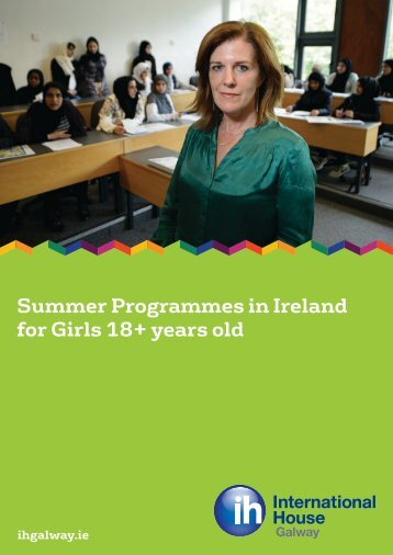 Summer Programmes in Ireland for Girls 18+ years old