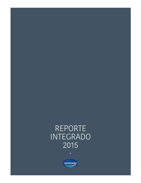 REPORTE INTEGRADO 2015