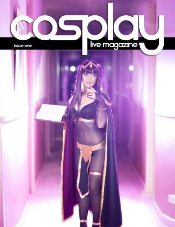Cosplay Live Magazine - Issue One