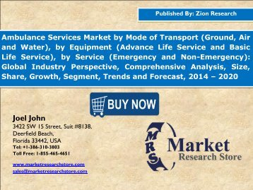 Ambulance Services Market