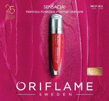 Oriflame Katalog nr 7 - 2016