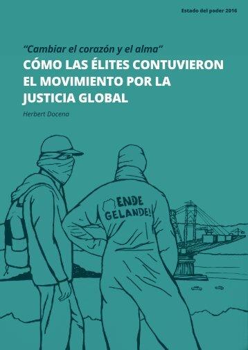CÓMO LAS ÉLITES CONTUVIERON EL MOVIMIENTO POR LA JUSTICIA GLOBAL