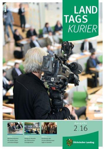 Landtagskurier Ausgabe 2/2016
