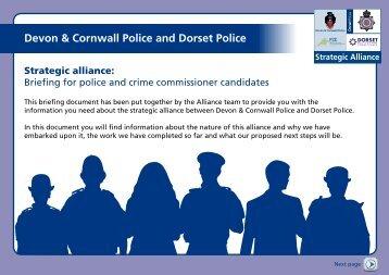 Devon & Cornwall Police and Dorset Police