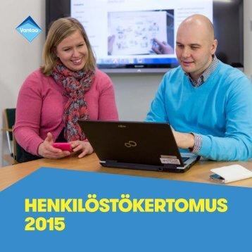 HENKILÖSTÖKERTOMUS 2015