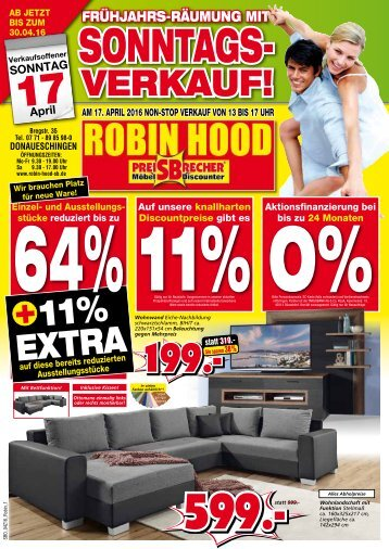 FRÜHJAHRS-RÄUMUNG mit Sonntags-Verkauf!