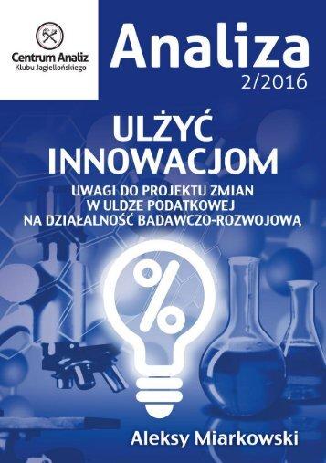 doktorską innowacyjności ramach Ministerstwie