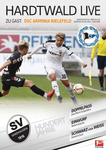 Hardtwald Live, Heft 15, Saison 2015/16