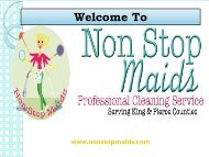Professional Cleaning Service Renton WA | Non Stop Maids
