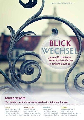 BLICKWECHSEL 2016