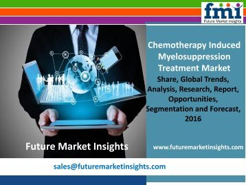 Chemotherapy Induced Myelosuppression Treatment Market