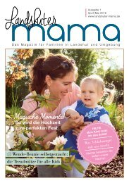 Landshuter Mama Ausgabe 1
