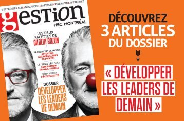 LES LEADERS DE DEMAIN »