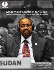 Modernized Sanctions for Sudan