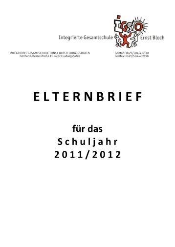 IG S L O - eV . IGS - Integrierte Gesamtschule Ernst Bloch