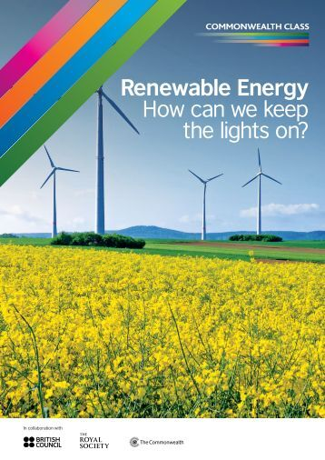 Renewable Energy How can we keep the lights on?
