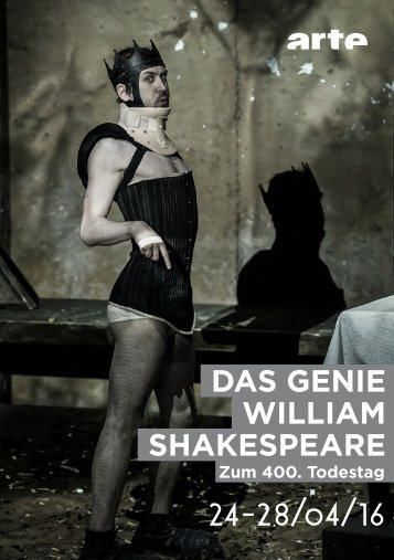 DAS GENIE WILLIAM SHAKESPEARE 24-28/04/16
