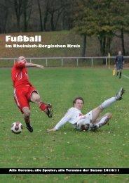 Fußball Im Rheinisch-Bergischen Kreis - Mischbeks kleine Lesewelt
