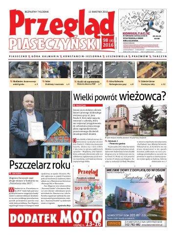 Przegląd Piaseczyński, Wydanie 98