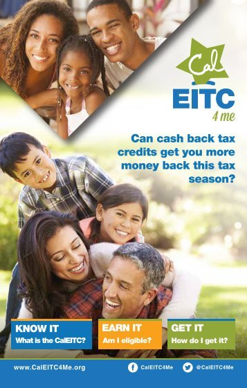 Can cash back tax credits get you more money back this tax season?