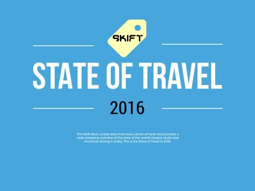 STATE OF TRAVEL