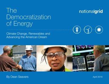 Democratization of Energy