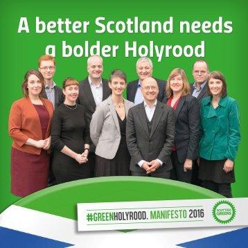 A better Scotland needs a bolder Holyrood