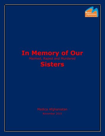 In Memory of Our Sisters
