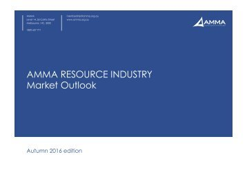 AMMA RESOURCE INDUSTRY Market Outlook