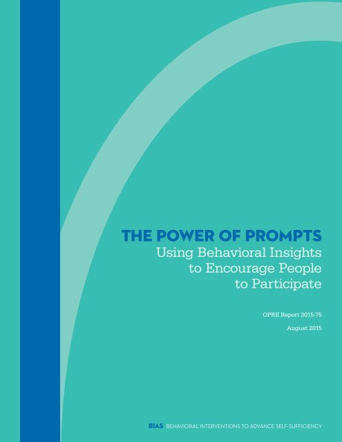 THE POWER OF PROMPTS