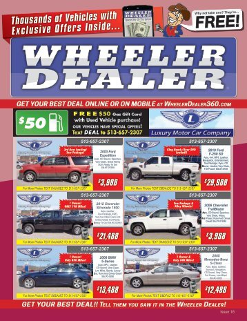 Wheeler Dealer Issue 16, 2016