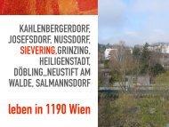 1190 Sievering - Erstbezug - Dachterrasse - hochwertig!