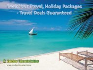Book Your Travel, Holiday Packages - Travel Deals Guaranteed