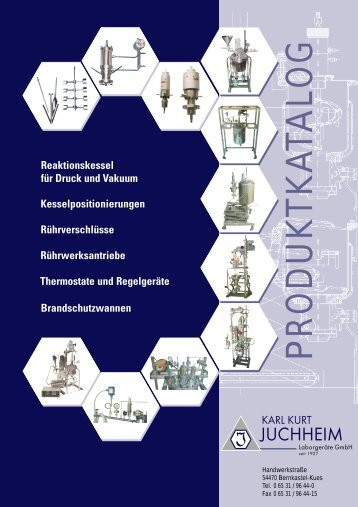 Rührverschlüsse - Juchheim Laborgeräte GmbH in Bernkastel Kues